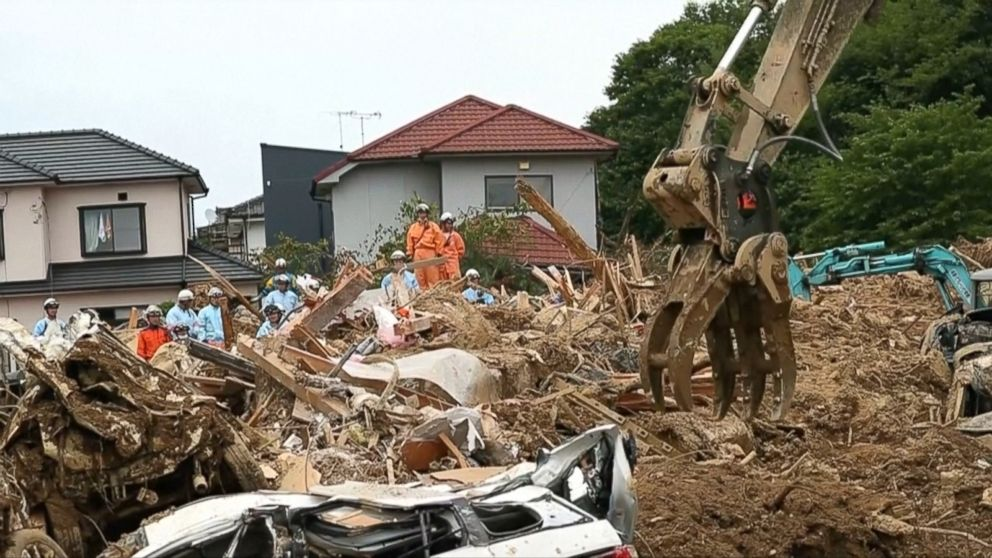 More than 170 dead in Japan's worst flooding in decades