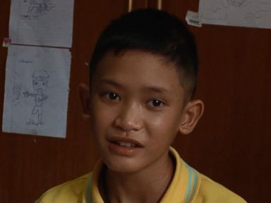WATCH: One-on-one with boy who was stuck in Thailand cave