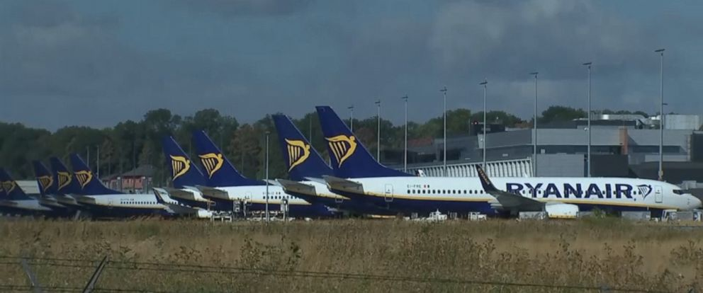 VIDEO: Ryanair employees are on strike in Germany, Ireland, Sweden, Belgium and the Netherlands, forcing the firm to cancel 394 flights.