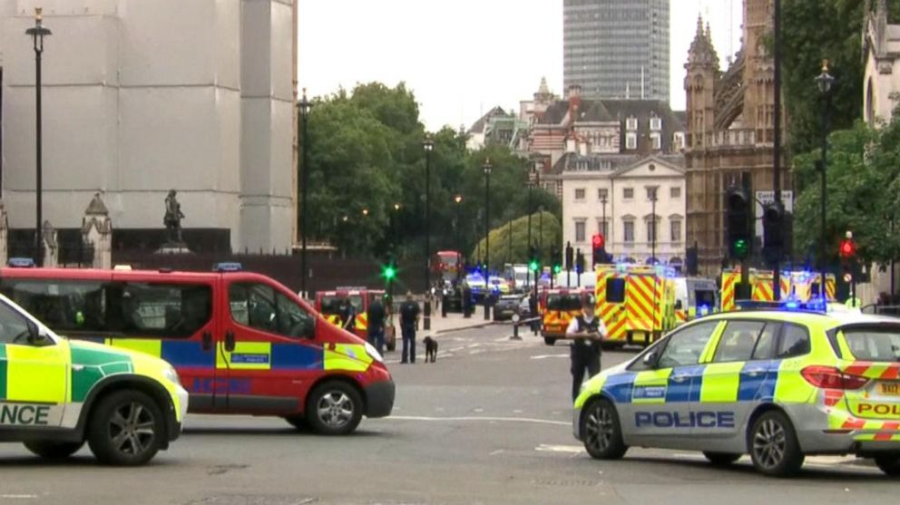 London police investigating vehicle crash as possible terrorism ...