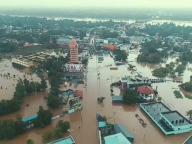 WATCH:  Worst flooding in a century kills more than 300 in India: Reports