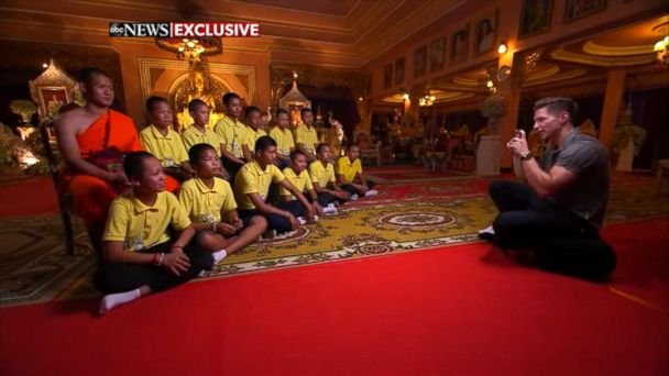 Thai soccer team discusses cave rescue in exclusive interview