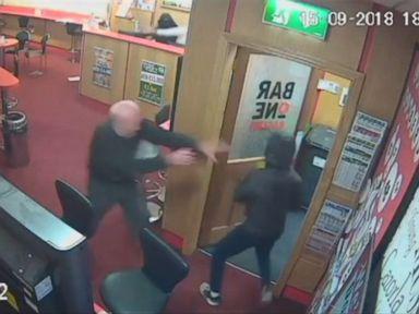 WATCH:  Elderly man thwarts armed robbery