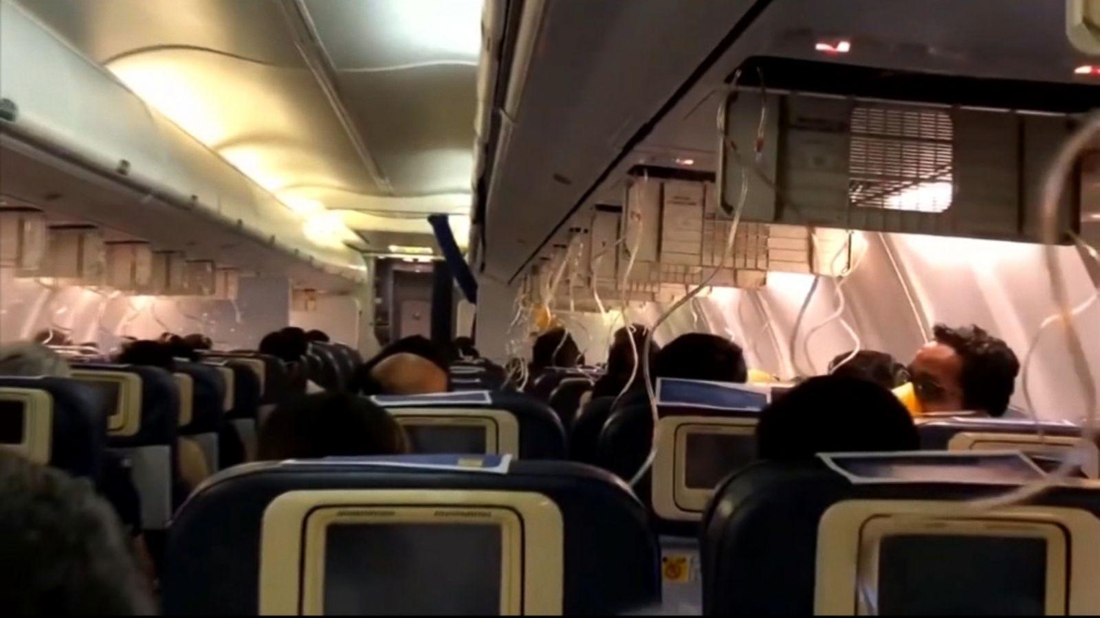 dozens injured on indian flight after plane loses cabin pressure