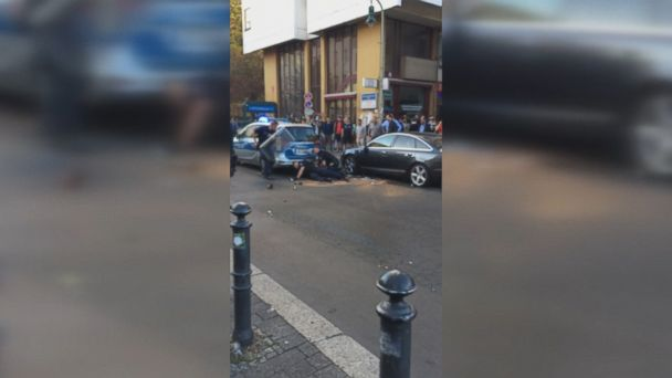 Video showing German police appearing to beat a black man stirs debate