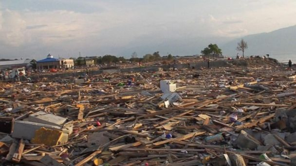 Volcanic eruption adds to devastation from tsunami in Indonesia