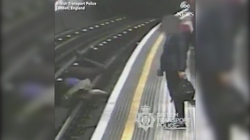 VIDEO: Man pushes 91-year-old onto London subway tracks