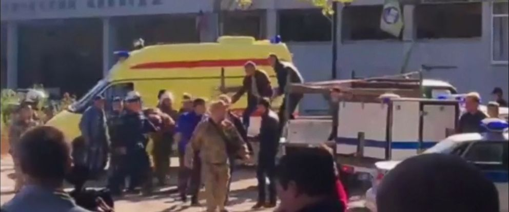 VIDEO: An explosion at a college in Crimea has reportedly killed at least 13 people and injured dozens, in what Russian counterterrorism officials suspect is a terror attack.