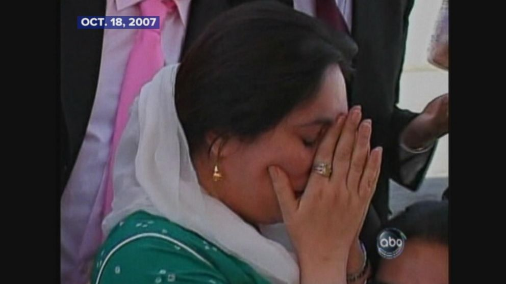 After years in exile, Benazir Bhutto returns to Pakistan.