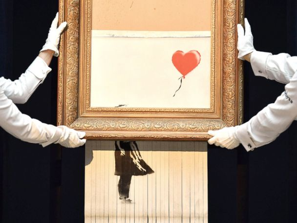 WATCH:  Banksy auction, Trump meets Kanye, polar bear in Germany: World in Photos