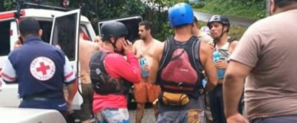 A Costa Rican guide also died in the incident.