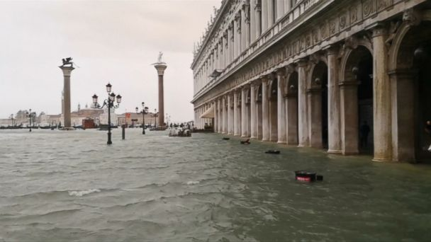 Venice experiencing its worst flooding since 2012