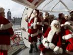 WATCH:  Santas ride the London Eye, voters cast ballots: World in Photos
