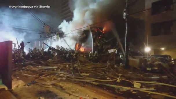 Japan restaurant explosion injures dozens