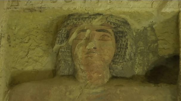 A well-preserved tomb uncovered in Egypt
