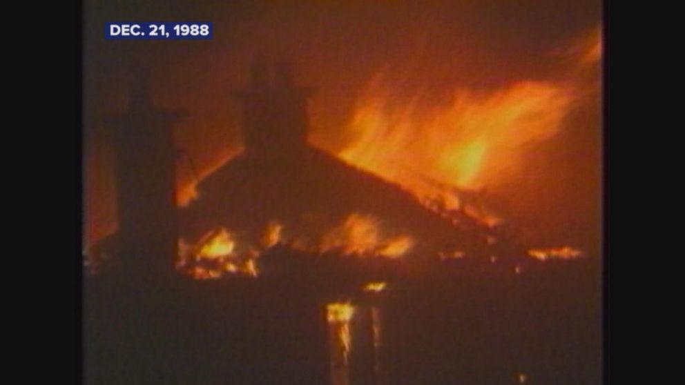 Pan Am Flight 103 crashes into Lockerbie, Scotland.
