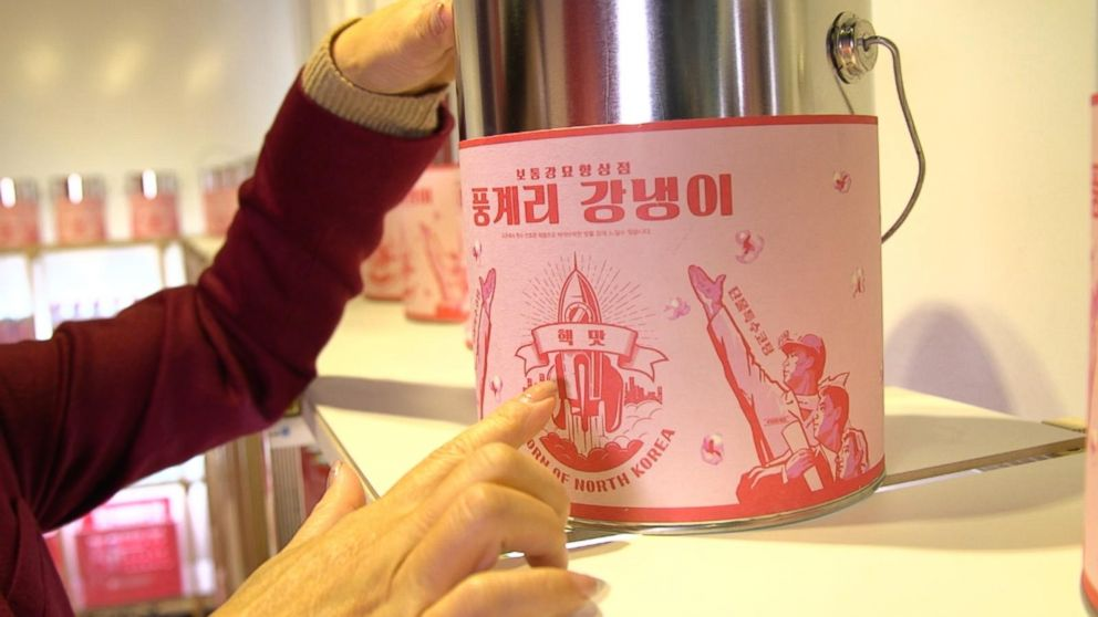 Satirical Pop Up Shop Offers South A Taste Of North Korea Video
