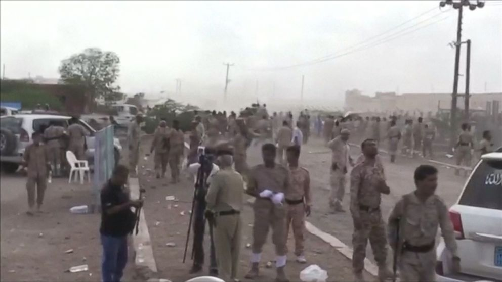 Houthi rebels carry out drone attack on Yemeni military commanders