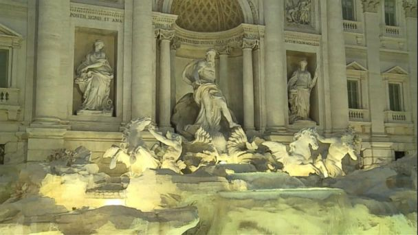 Rome mayor wants Trevi Fountain coins for city treasury