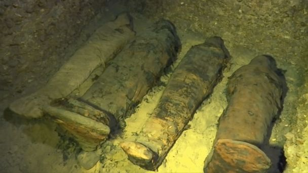 Egypt unearths more than 40 mummies in 'maze of tombs'