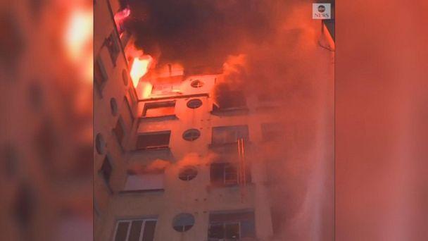 Paris apartment fire kills 8, injures more than 30