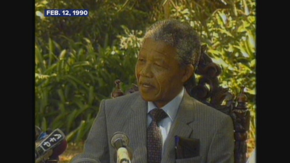 A look at Nelson Mandela's first full day of freedom.