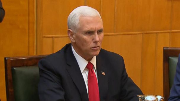 Mike Pence calls out European nations for not withdrawing from Iran nuclear deal