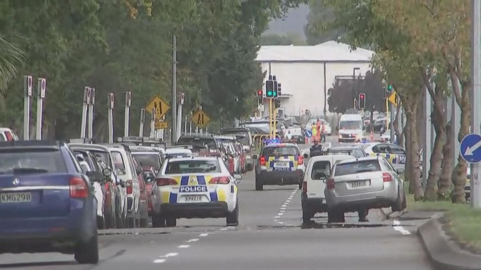 Deadly attacks on two New Zealand mosques Video - ABC News