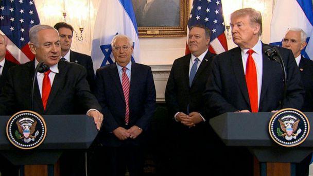 Netanyahu visits White House amid rocket attacks in Israel