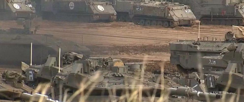VIDEO: Violence erupts on Israel-Palestine border
