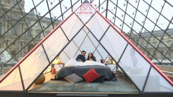 Airbnb launches contest to spend a night at the Louvre