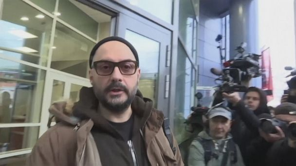 Top Russian director freed from house arrest