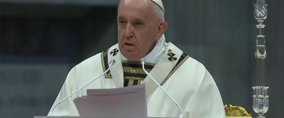 VIDEO: Pope holds Good Friday mass at Vatican