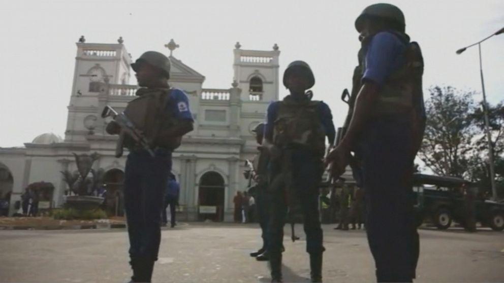 Radical Muslim group blamed in Sri Lanka Easter bombings, 1 of 4 American victims identified