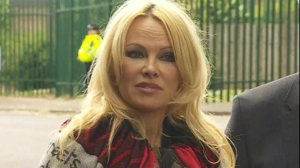 Pamela Anderson defends jailed WikiLeaks founder Julian Assange