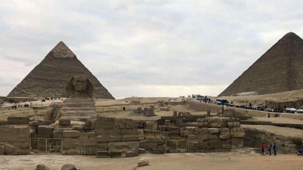 Across the Pond: Tourist bus bombed near Giza pyramids in Egypt
