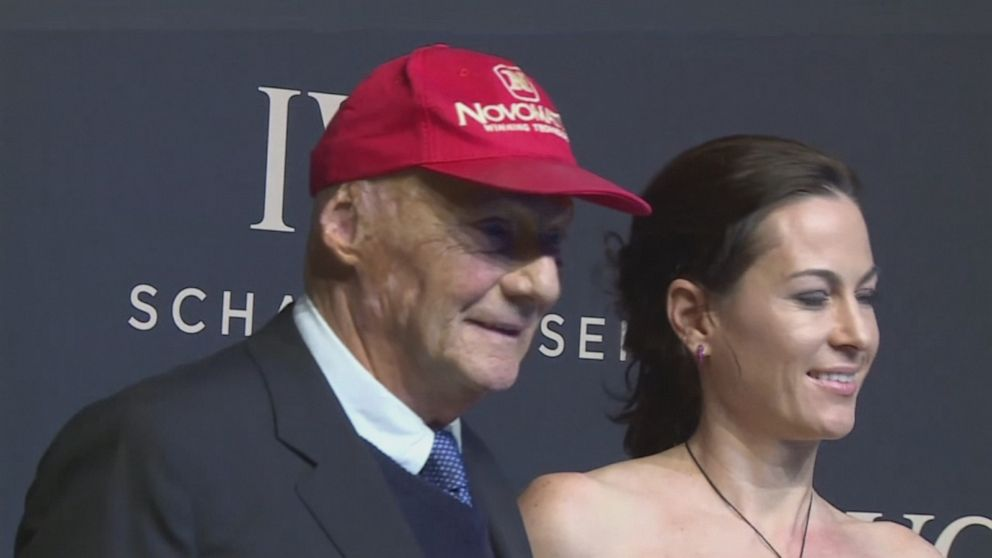 Formula One racing legend Niki Lauda dies at the age of 70