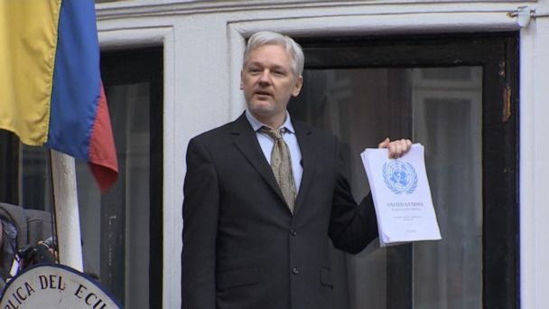 Assange charged for role in WikiLeaks disclosures