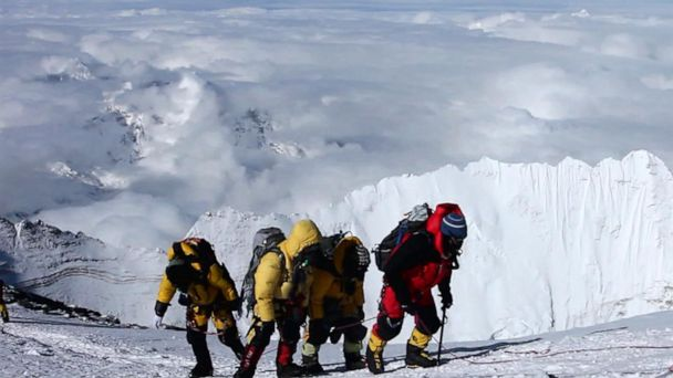 Experienced climbers detail dangers of Mt. Everest's overcrowded conditions