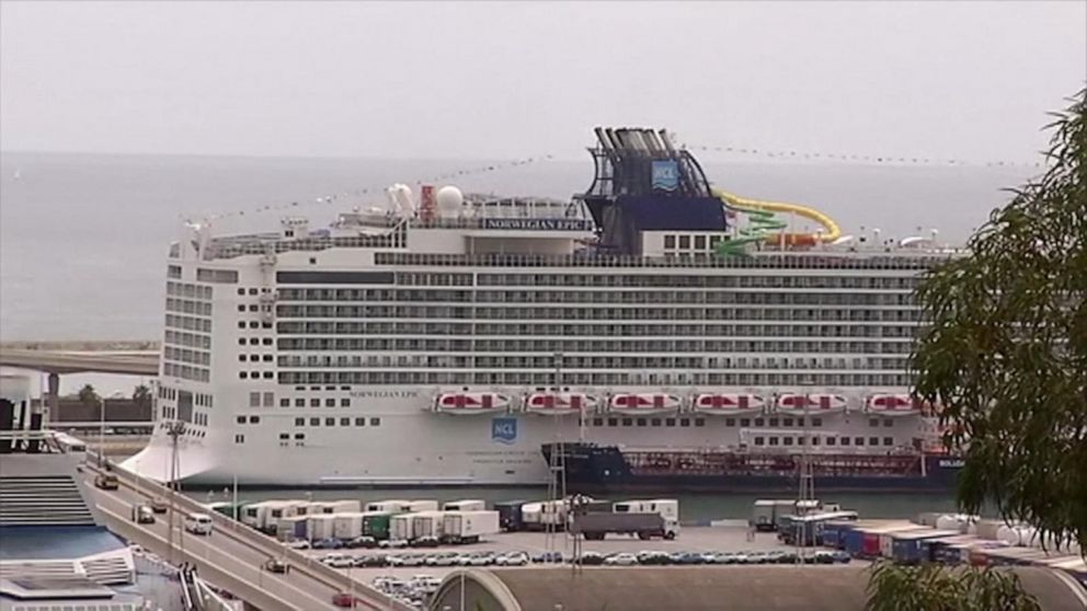 Search underway in Mediterranean Sea for woman who fell off Norwegian Epic cruise ship