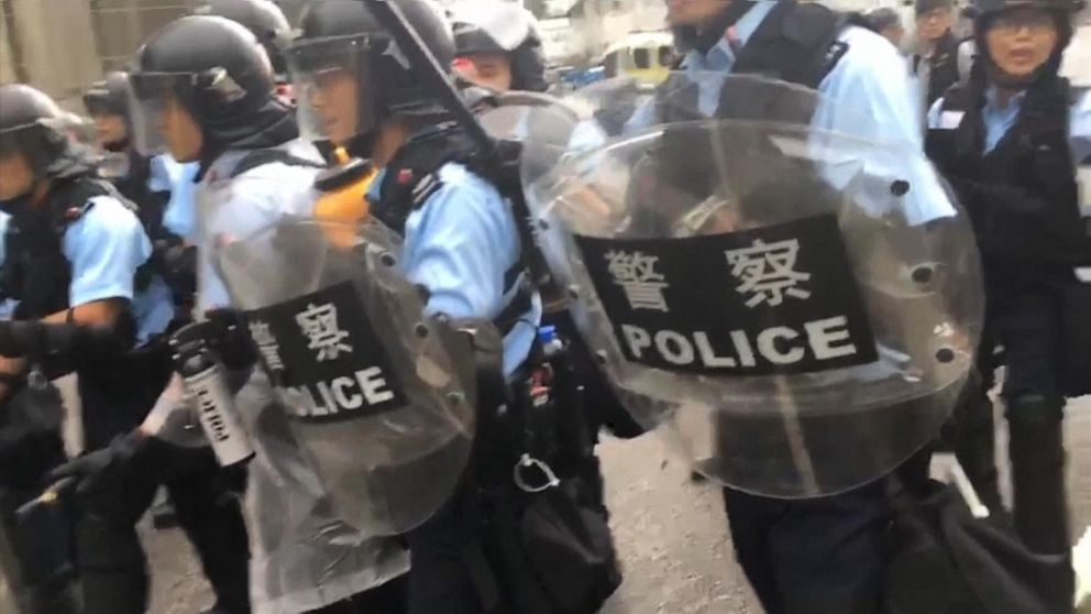 Historic protests take over the streets of Hong Kong: Reporter's Notebook