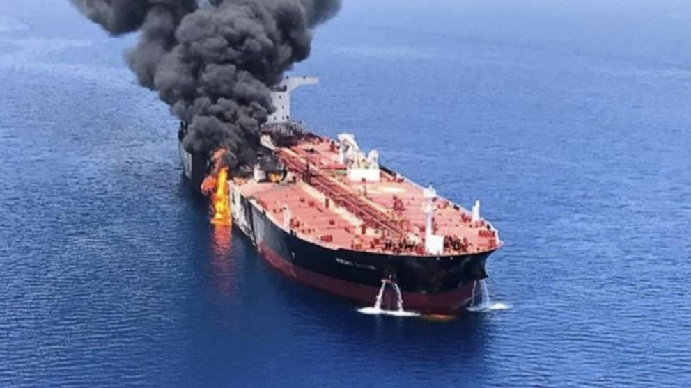 Pompeo: Tanker attacks are 'a problem' globally