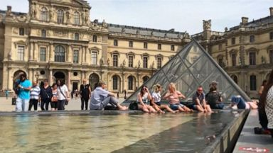 VIDEO: Blistering heat wave hits Western Europe