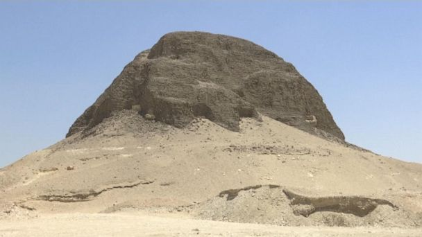 4000-year-old Lahun pyramid opens to the public