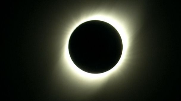 Total solar eclipse over parts of Chile, Argentina