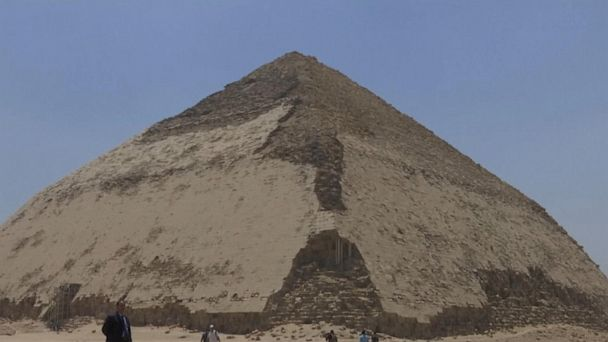 Egypt opens Bent Pyramid in Dahshur