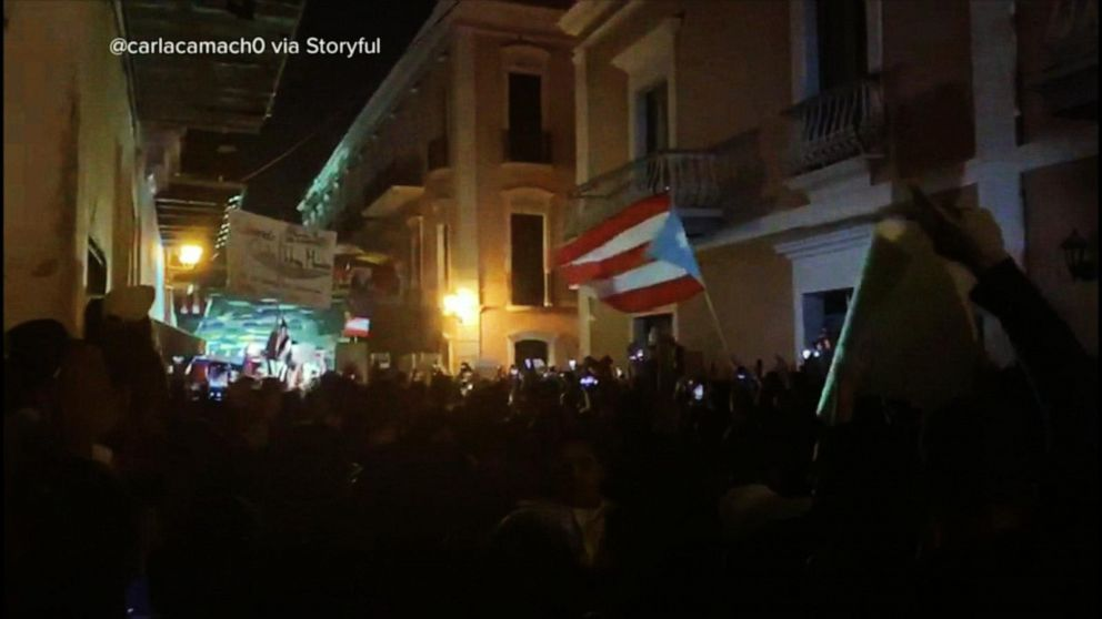 Protests in Puerto Rico intensify as police, protesters clash
