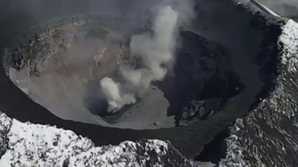 Crater inside volcano explodes, spews ash onto Mexico City