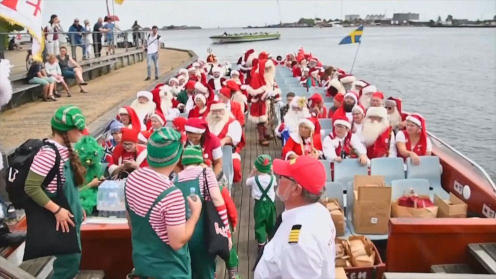 World Santa Claus Congress draws in Santas from around the world