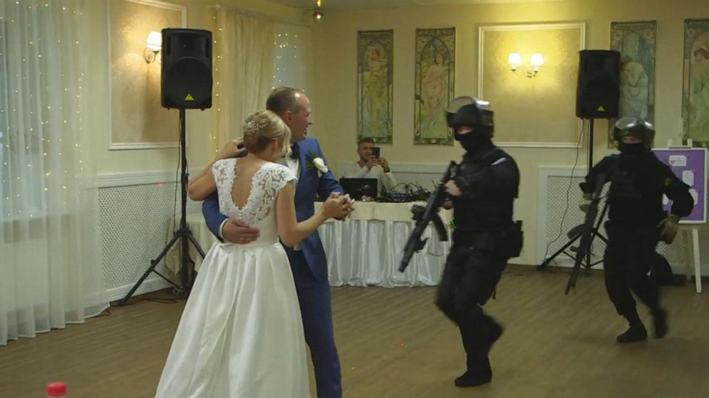 Fake Russian Swat Teams Prank Couples By Invading Weddings -4774